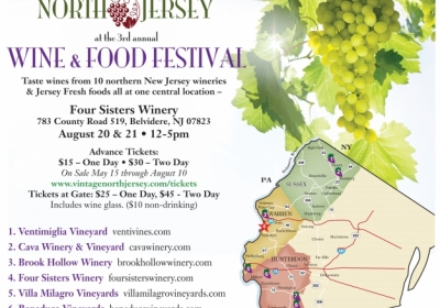 Vintage North Jersey's 3rd Annual Wine & Food Festival